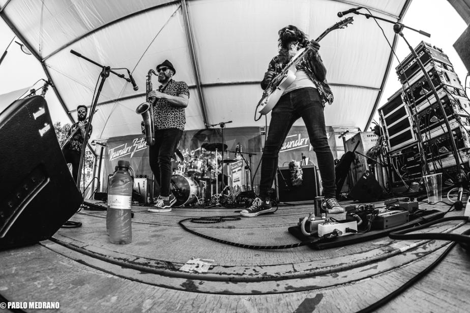 Los Tikis del Ritmo en el HDC Rockin'Fest
